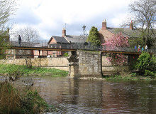 Morpeth, Chantry Footbridge , Northumberland © Dave Bevis